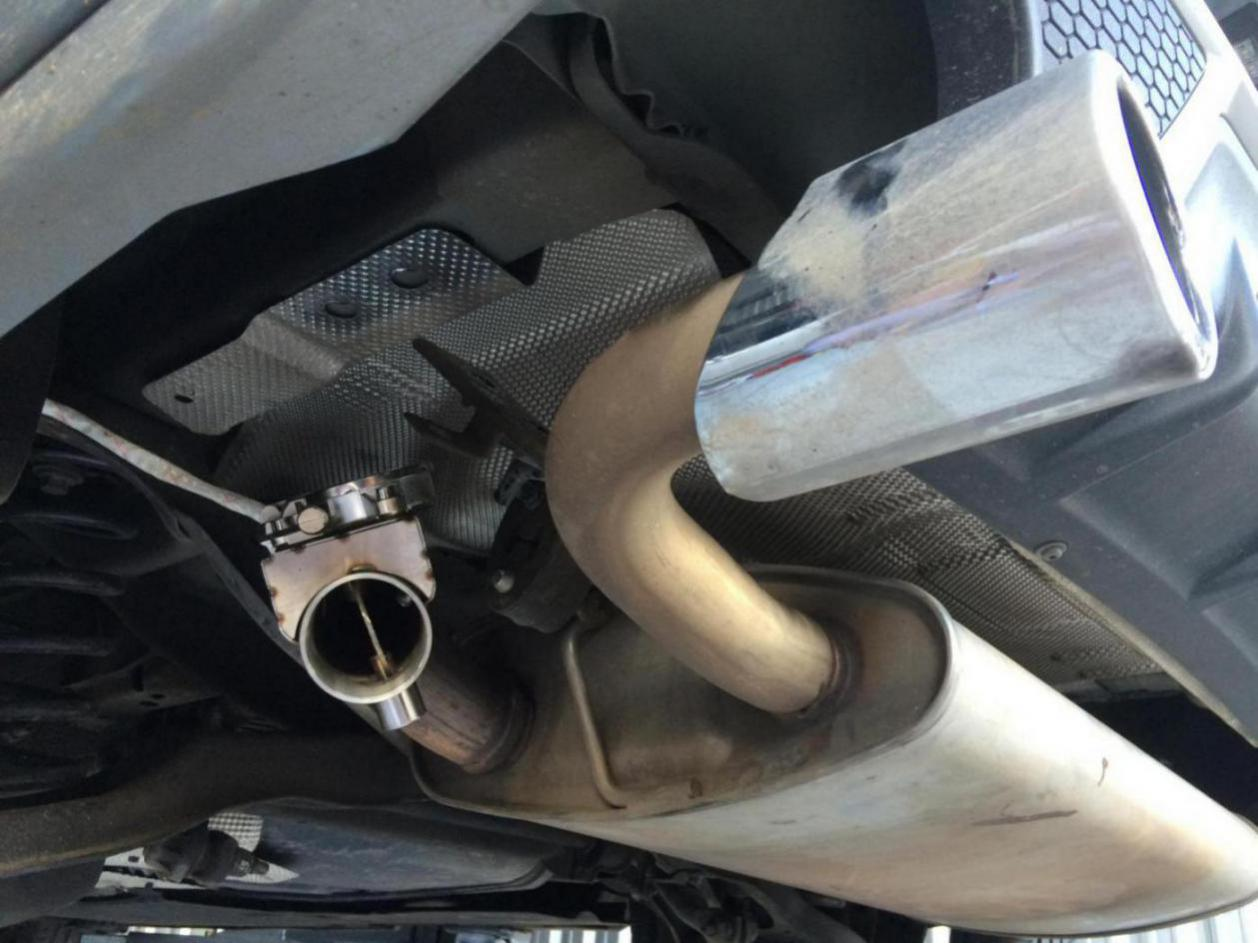 Exhaust cutout / bypass - V40 T5 Drive-E - Volvo V40 Forums