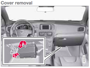 About installation of Power Magic Pro for dashcam. | Volvo V40 Forums | Volvo S40 Passenger Fuse Box |  | Volvo V40 Forums