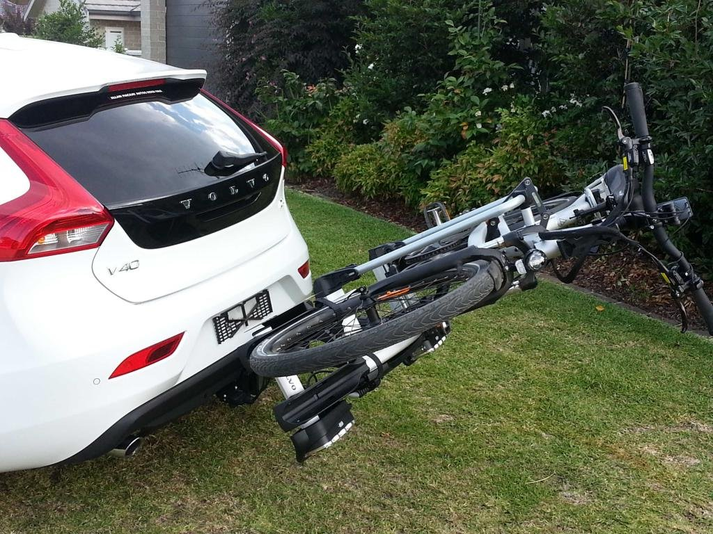 Bike rack tilt | Volvo V40 Forums